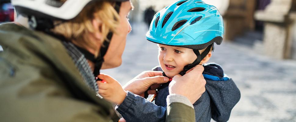 Veilig naar school: kies een passende fietshelm voor je kind