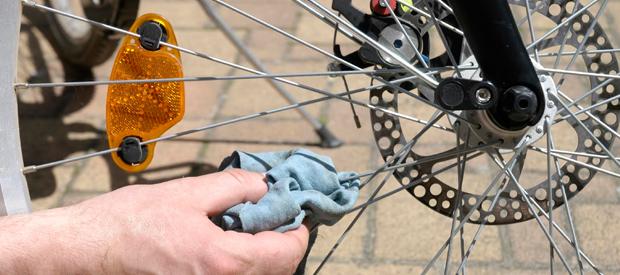 schoonmaken fiets