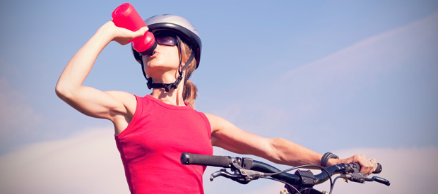 de juiste sportvoeding drinken