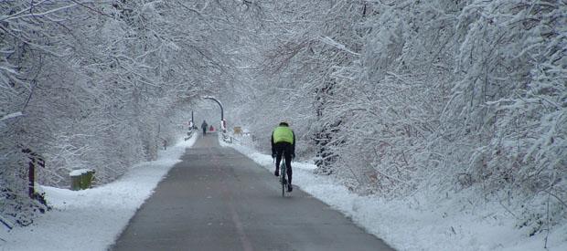 fietsen winter