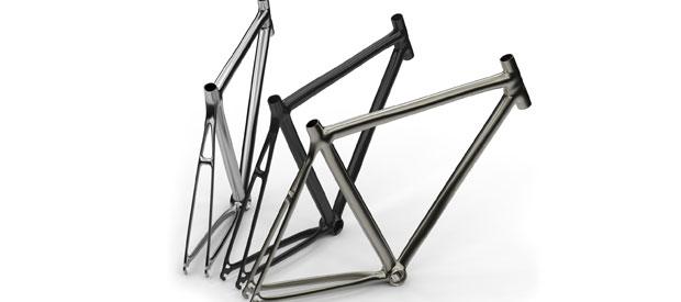 fietsframe materialen