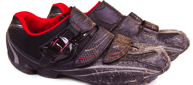 Onderhoud van wielerkledij en schoenen.wielerschoenen