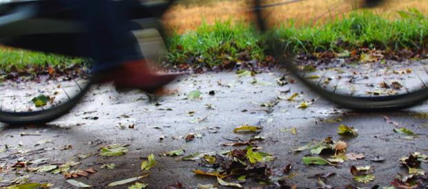 Fietskledij in de herfst.wieleroutfit