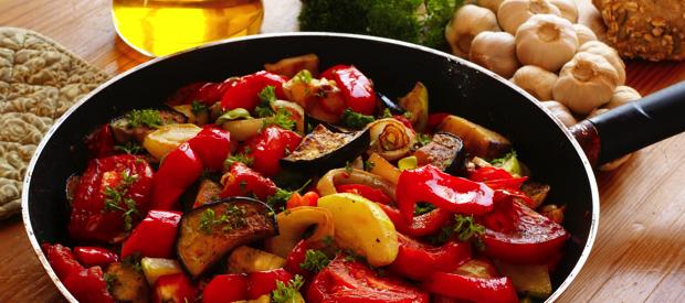 Groenten en fruit voor sporters in september.groenten
