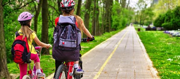 veilig naar school met fiets