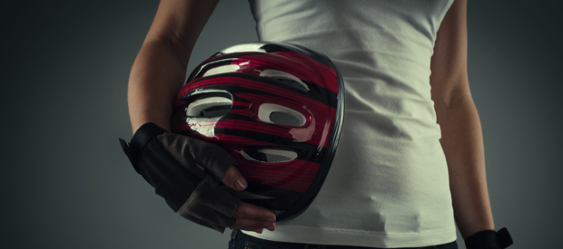 handschoenen en helmen