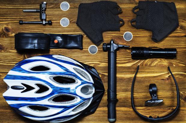fietstocht: materiaal meenemen