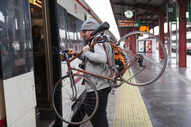 fiets op trein meenemen