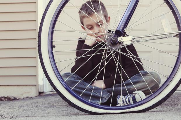 Zelf een fietsband plakken