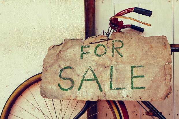 Verkopen fiets