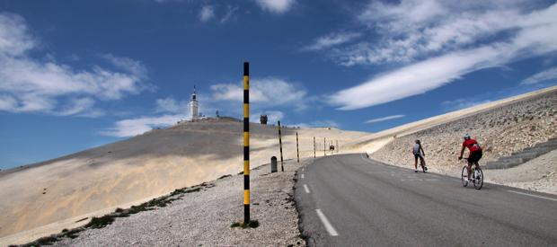 fietsbeklimmingen Mont Ventoux