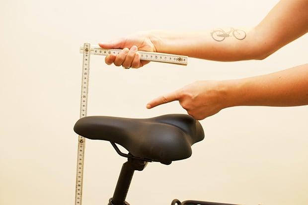 Jouw fietsmaat berekenen in 1 2 3