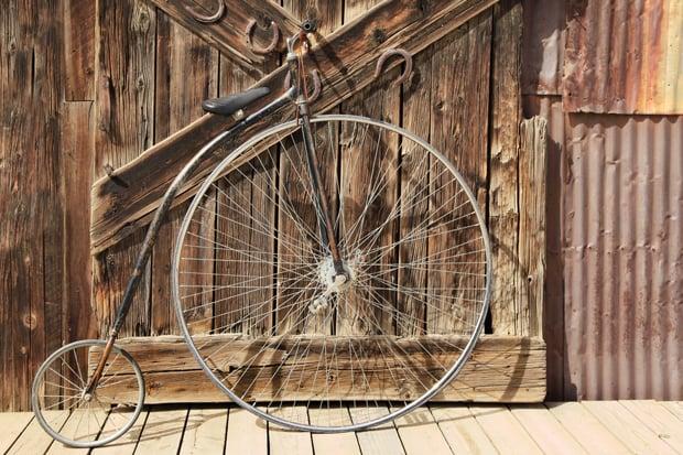 fietsen door de eeuwen heen