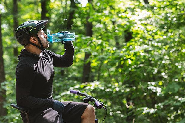 Hydrateren tijdens een fietstocht