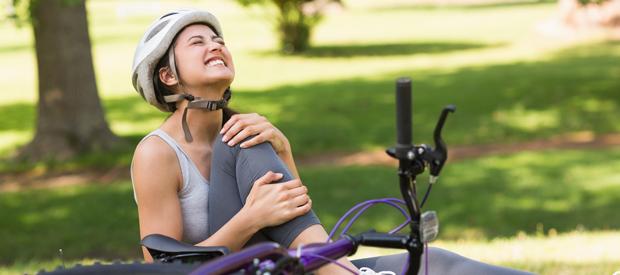 Kniepijn bij fietsers voorkomen