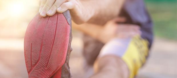 stretchoefeningen voor wielrenners