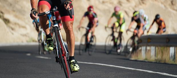 Pijn in de onderrug bij fietsers