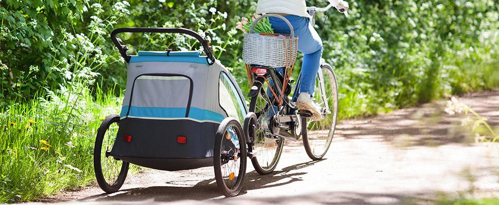 fietskar voor fietsen met baby