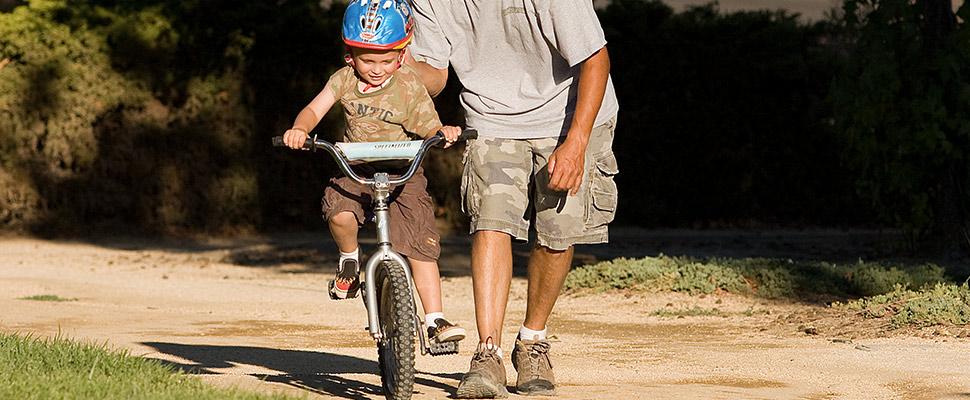 tips kind leren fietsen