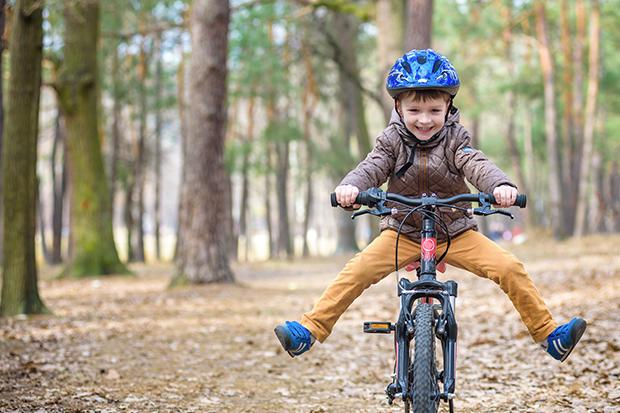 leren fietsen kind