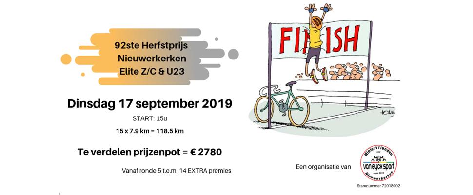 Nieuwerkerken Herfstprijs editie 92