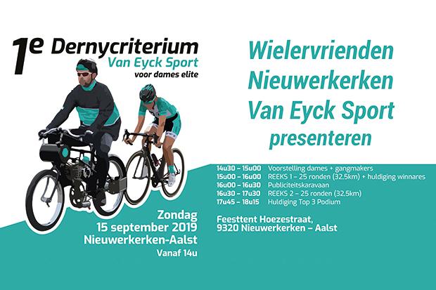 Eerste Dernycriterium Van Eyck Sport Dames Elite