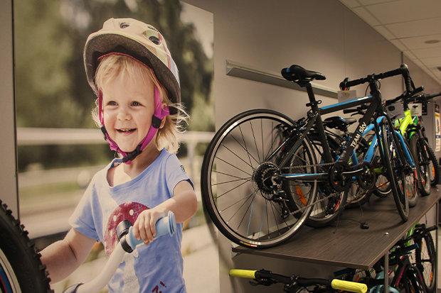 Ruim assortiment aan kinderfietsen bij Van Eyck Sport