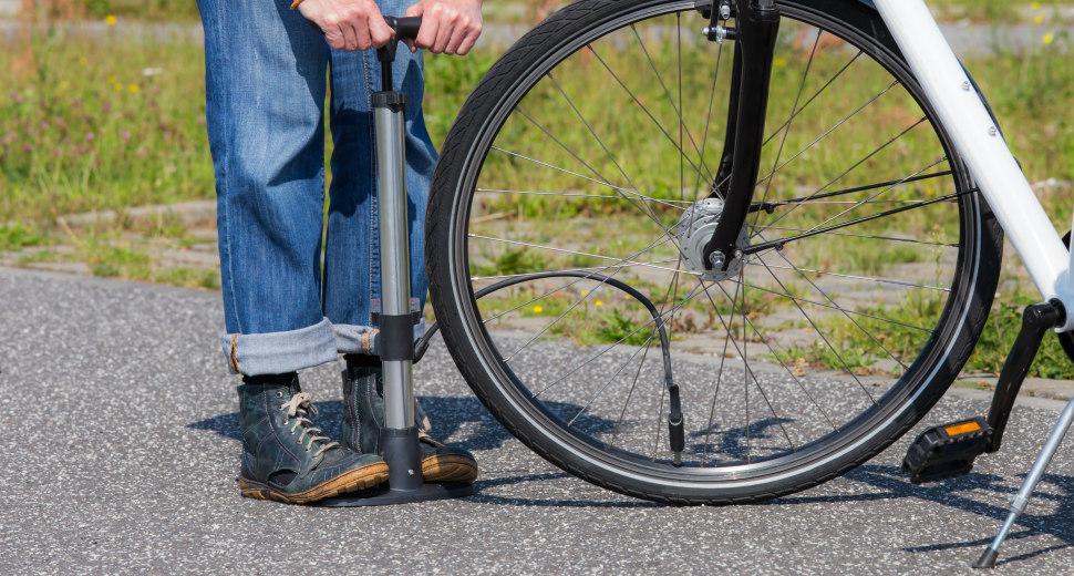 Kies de juiste bandenspanning: fiets met een gerust hart
